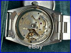 1956 Vintage Rolex Explorer Brevet 6610 Original Swiss Gilt Chapter Ring 1030