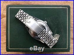 1957 36MM VINTAGE ROLEX 6614 6610 EXPLORER SWISS GILT CHAPTER RING DIAL 1030 cal