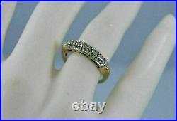 2Ct Round Diamond Vintage Band Bridal Ring 14k YellowithWhite Two Tone Gold Finish