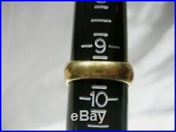 Estate vintage masonic 14k gold men ring solid 20.1 grams size 9.5
