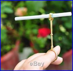 Fashion Cigarette Holder Ring Rack Vintage Metal Men Women Finger Clip Rack Slim
