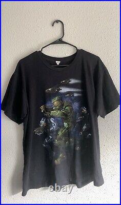 Halo 2008 Vintage Promo Video Game Rare T Shirt