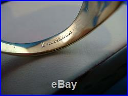 Impressive 14k Yellow Gold Men's Masonic Vintage Ring 11.8 Grams, Size 11