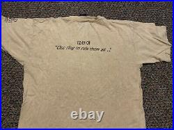 LORD OF THE RINGS FOTR vintage 2001 rare promotional movie t-shirt Adult XL