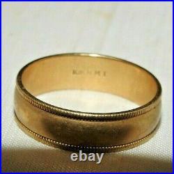 Men's 10K Gold Ring size 9.5, Vintage. 3.87 g