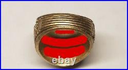 Rare 1987 Vintage Virginia Tech Collectible Ring