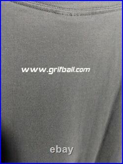 Rare Halo 3 Grifball Video Game Promo T-Shirt Master Chief Xbox Vtg Sz XL
