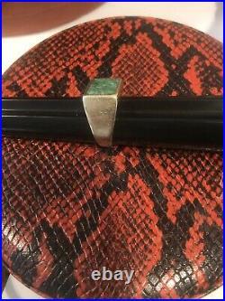 Stunning Man's, Vintage Heavy 14k Gold, Hand Carved Jade, Ring 13.4g sz 9.5