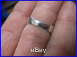 Stunning Vtg Mens Sterling Silver Zuni Ring, Signed Boone, Turquoise, Onyx++