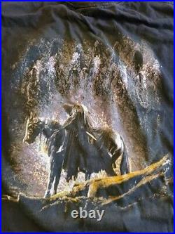 VTG The Lord Of The Rings Fellowship Of The Ring Nazgul Black Rider T-Shirt XL