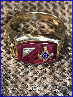 Vintage Mens Ring | Tag | masonic