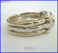 Vintage 14K Gold Diamond Men's Ring Center Old Mine Cut=1.05 G-VS1 Value=$19,750