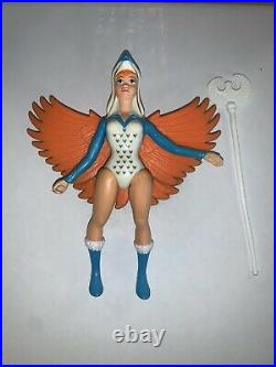 Vintage 1987 He-Man Masters of the Universe Sorceress Action Figure (100%)