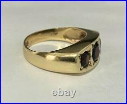 Vintage 9CT GOLD Men's ring Size P