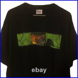 Vintage Halo 2 Promo T Shirt Original Sweepstakes Mens Large 711 Dew Xbox NWOT