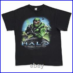Vintage Halo Combat Evolved Video Game Promo Shirt Size Large