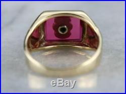 Vintage Independent Order of Odd Fellows Men's Ring