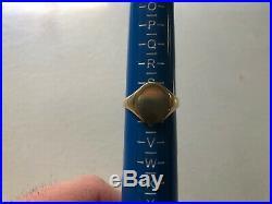 Vintage Mens 375/9ct Gold Signet Ring, Size S. 5, 2.9g