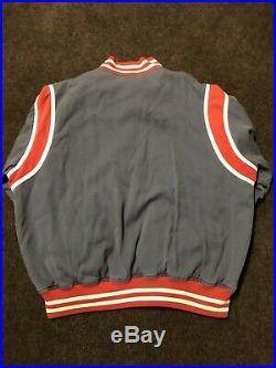 Vtg Polo Ralph Lauren P-Wing Babe Ruth Rings Jacket Blue L 92 93 Stadium